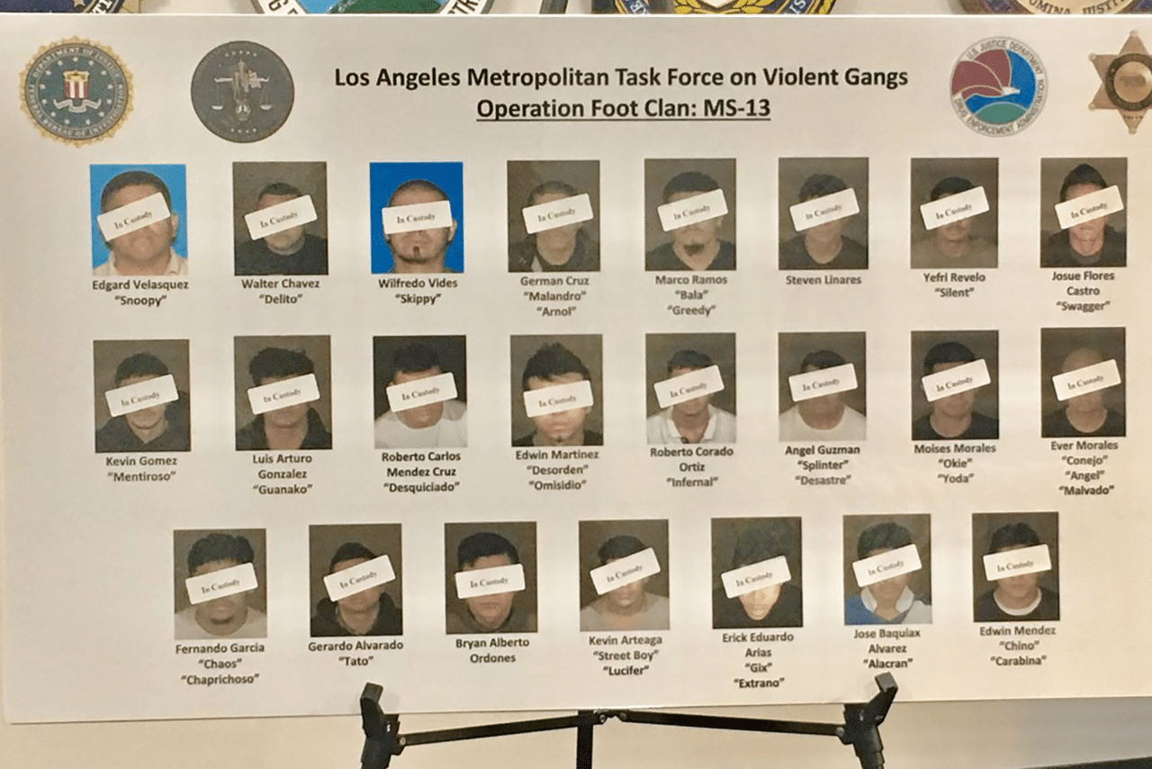 MS-13 Southern California Indictment
