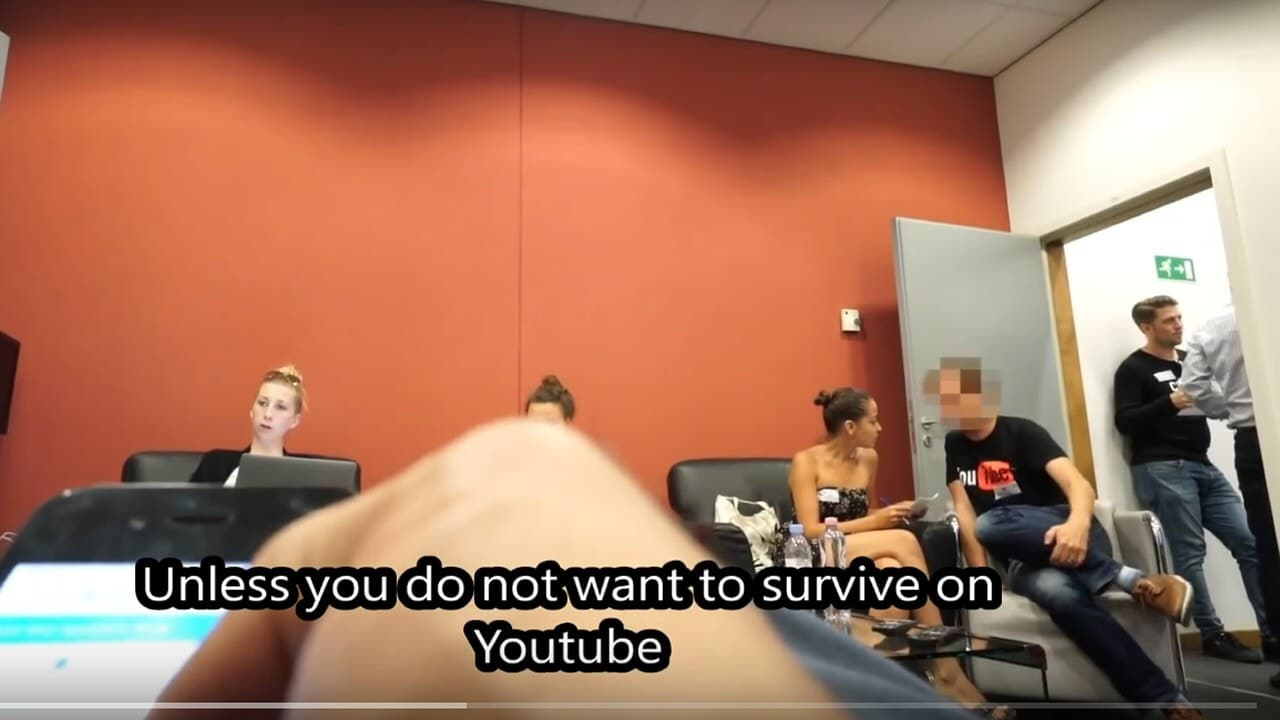 """YouTube to """"blackmailed"""" Juncker interviewer: """"You don't want to get on the wrong side of YouTube and the European Commission"""" Softball questions for EU or else."""
